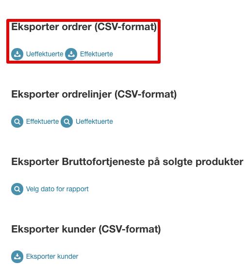 Ordrer > Eksport |24NB 2021-07-27 10-12-24