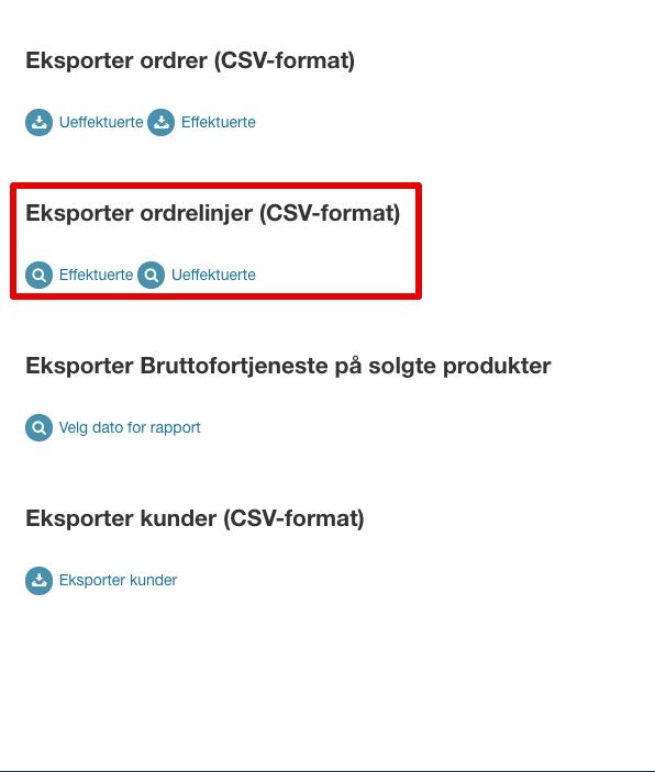 Ordrer > Eksport |24NB 2021-07-27 10-19-18