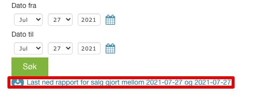 Ordrer > Eksport |24NB 2021-07-27 10-24-31